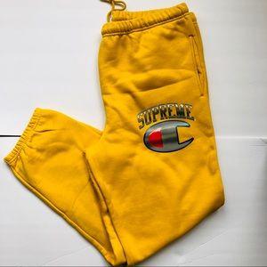 Supreme / Champion Chrome Sweatpants